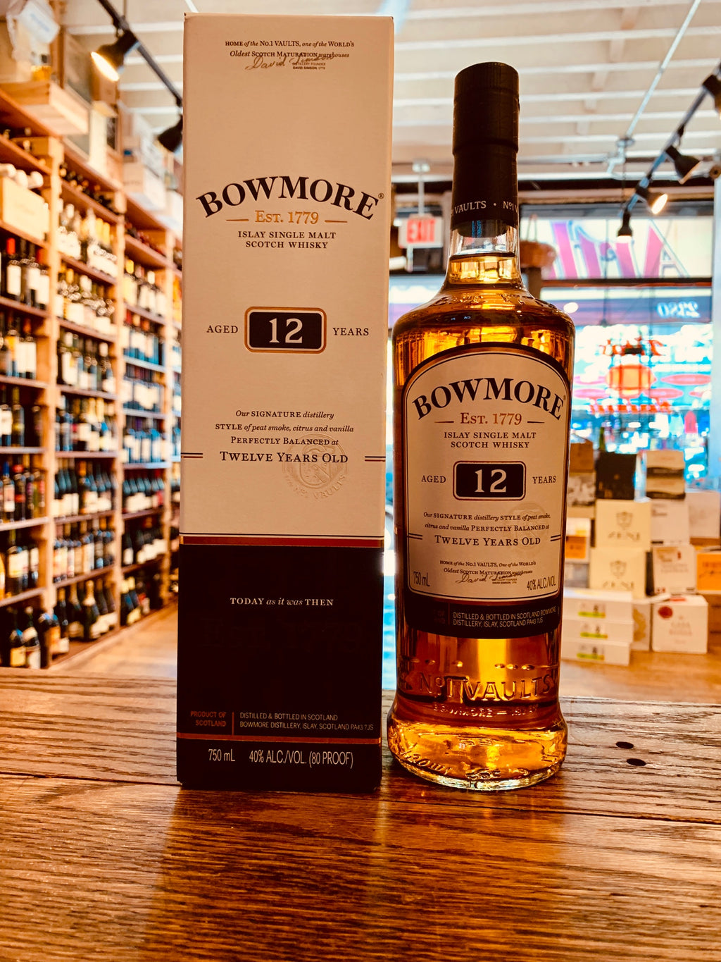 Bowmore 12yr Single Malt 750mL