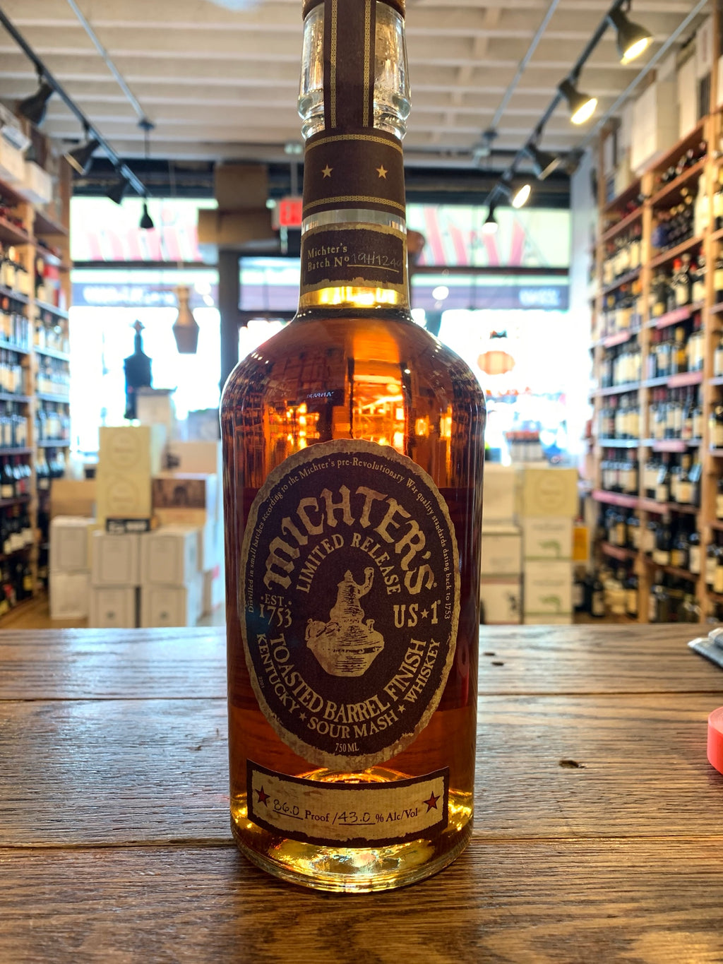 Michters Toasted Barrel Finish 750mL