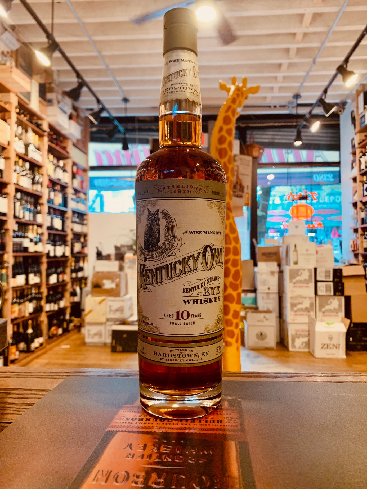 Kentucky Owl Straight Rye 750mL