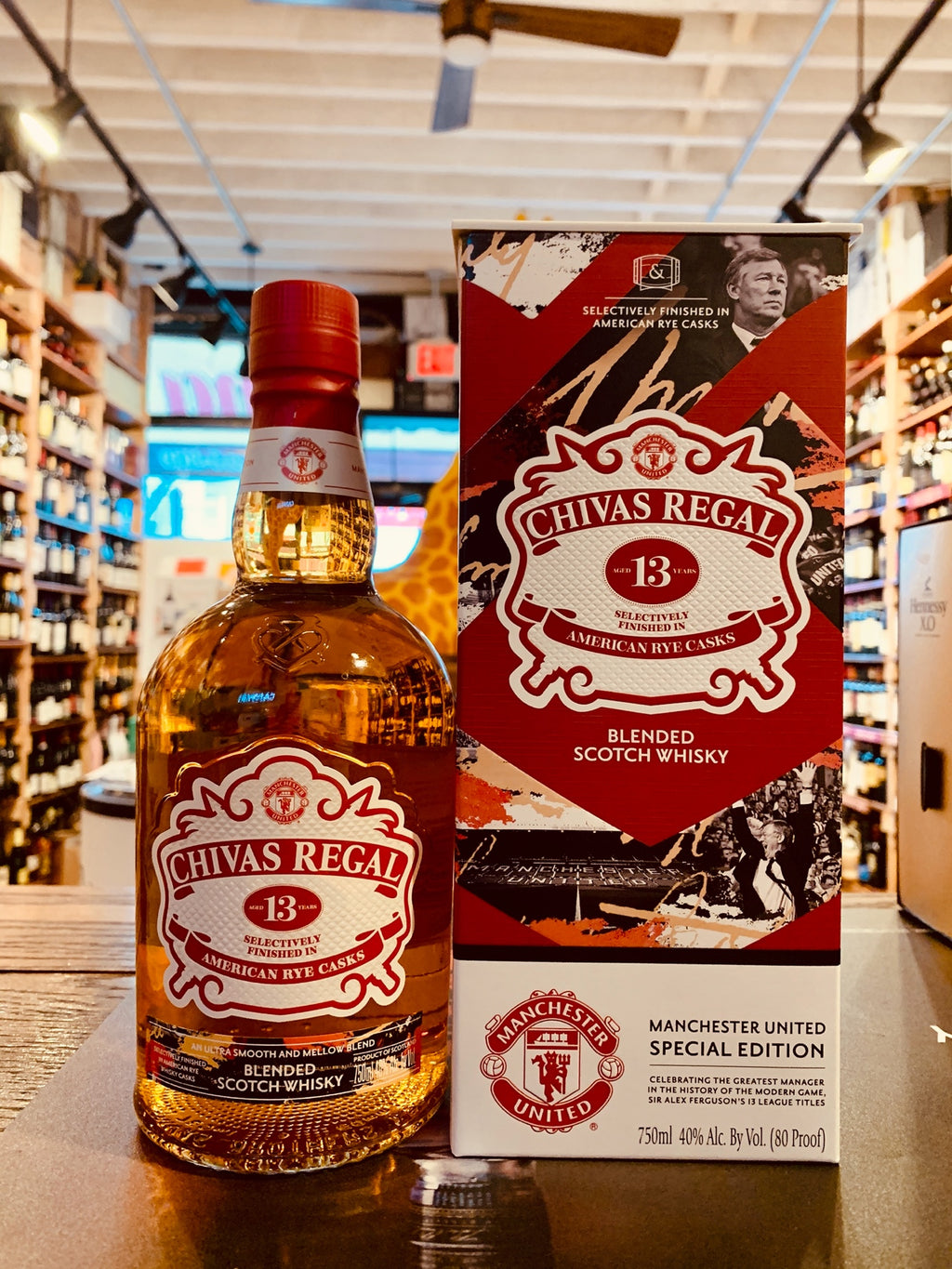 Chivas Regal Manchester 13yr 750mL