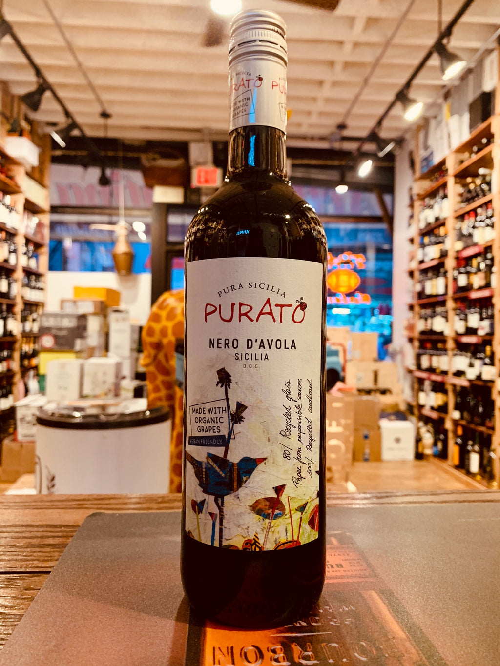 Purato Nero d'Avola 750mL 2018