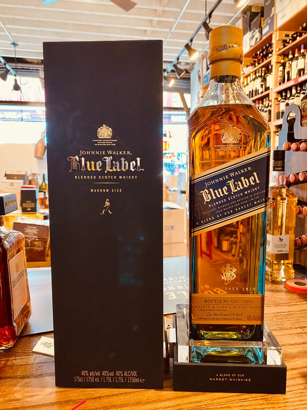 Johnnie Walker Blue Label 1.75L