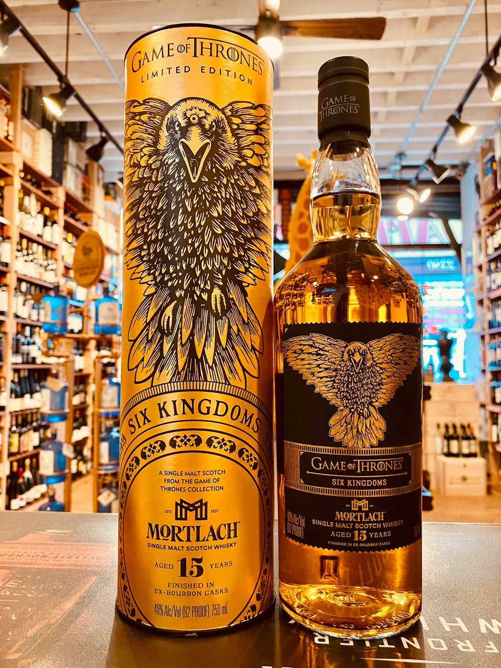 Six Kingdoms Mortlach 15yr 750mL