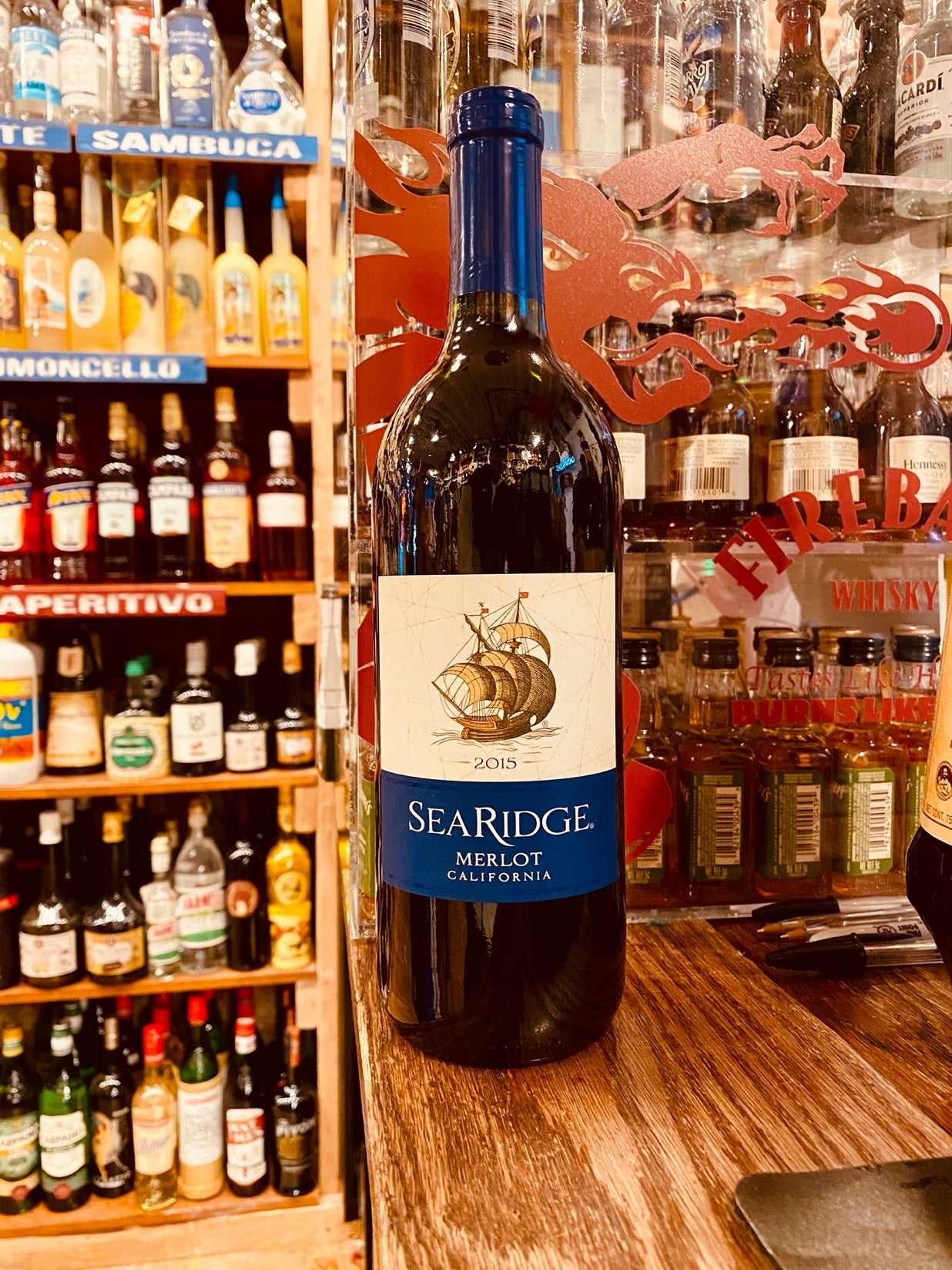 Sea Ridge Merlot 2015 750mL