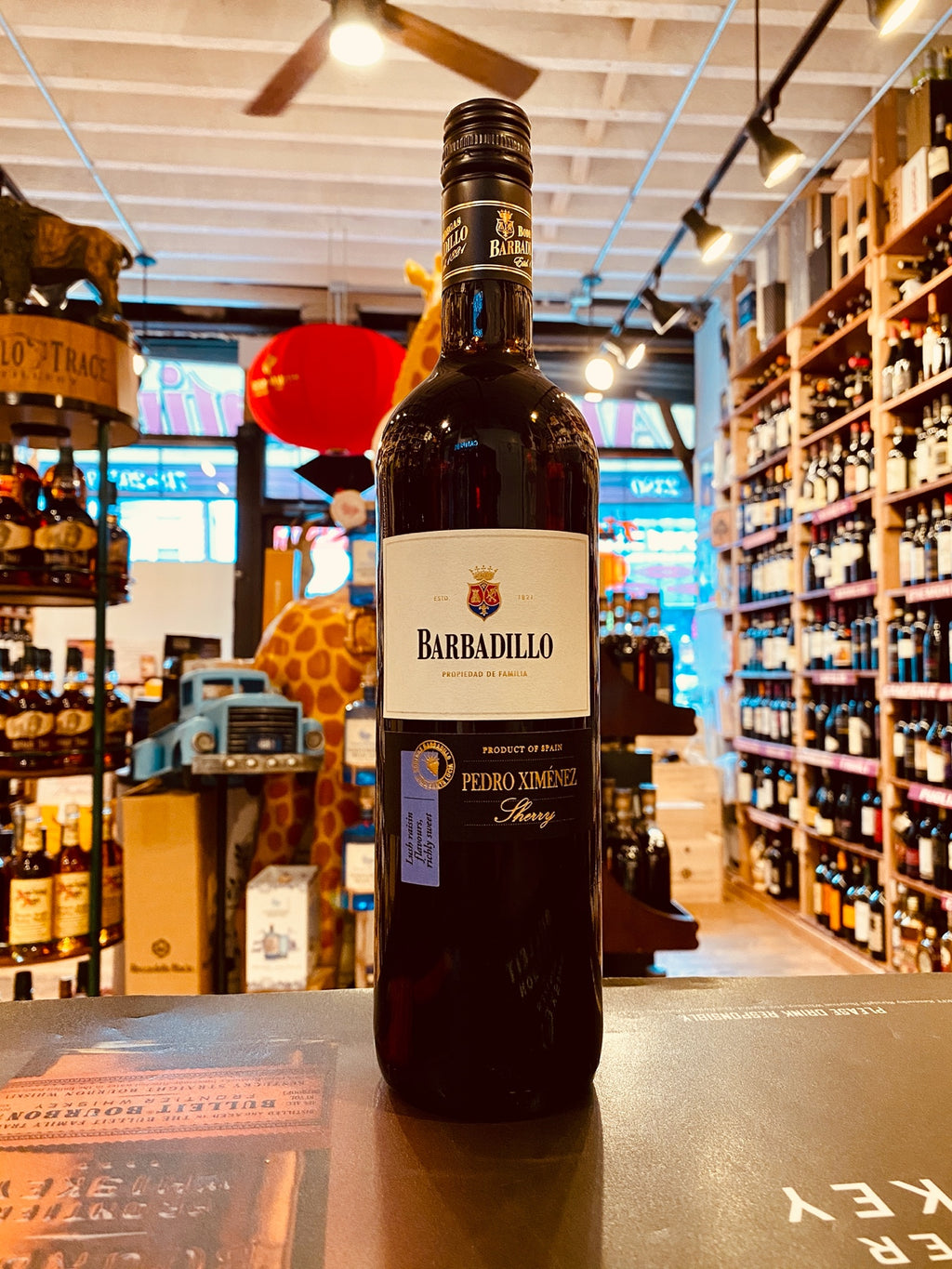 Barbadillo Pedro Ximenez Sherry 750mL