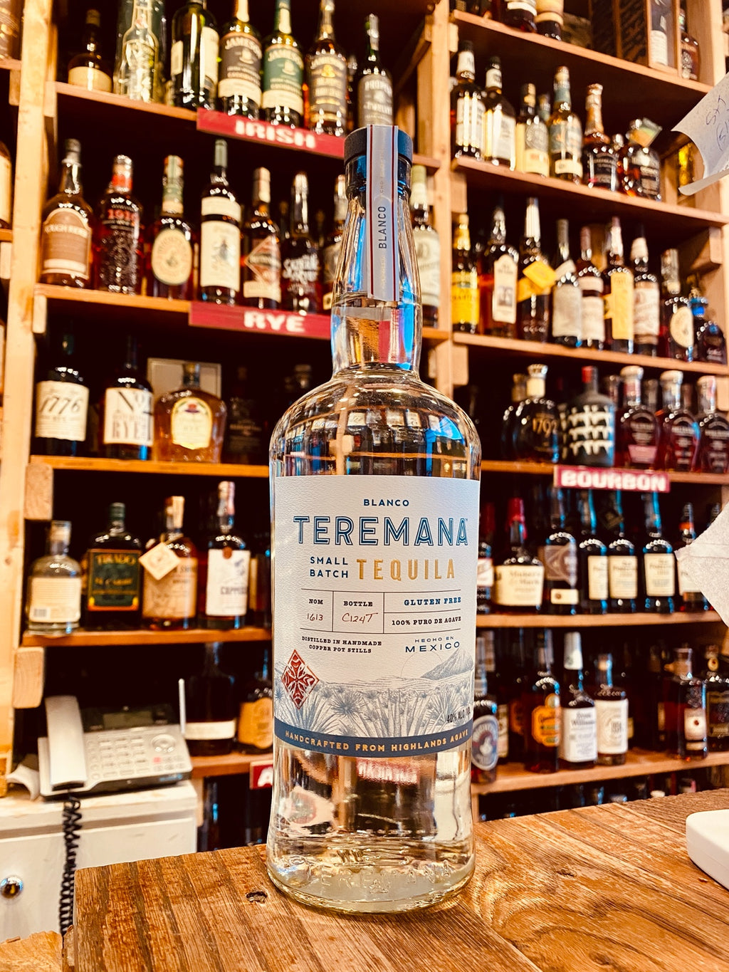 Teremana Small Batch Tequila Blanco 1L