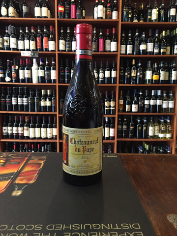 Chateauneuf du Pape 750ml 2014 Pope Picture