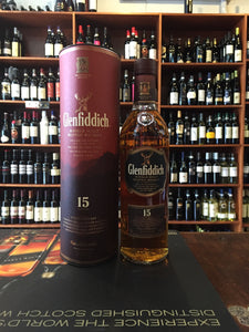 Glenfiddich 15yr old Single Malt 750mL