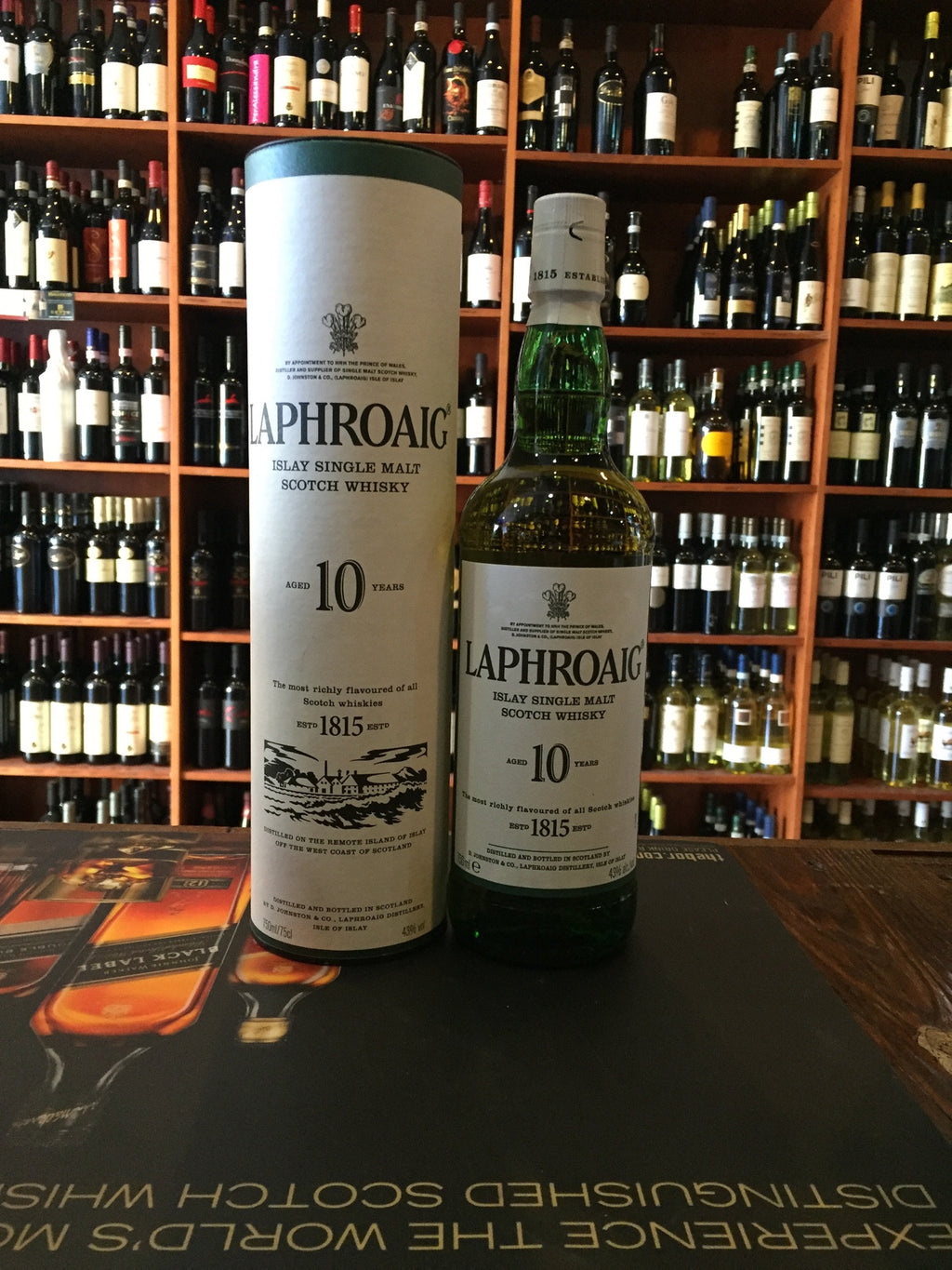 Laphroaig Scotch Single Malt 10yr Old 86º 750ml