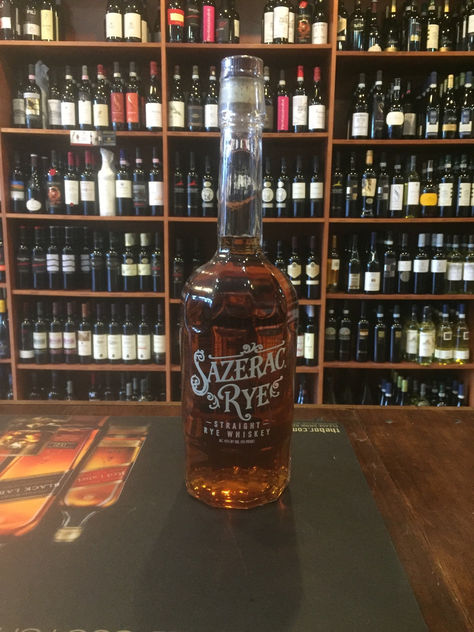 Sazerac Straight Rye Whiskey 750ml