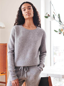 Cashmere Lounge Set - Grey