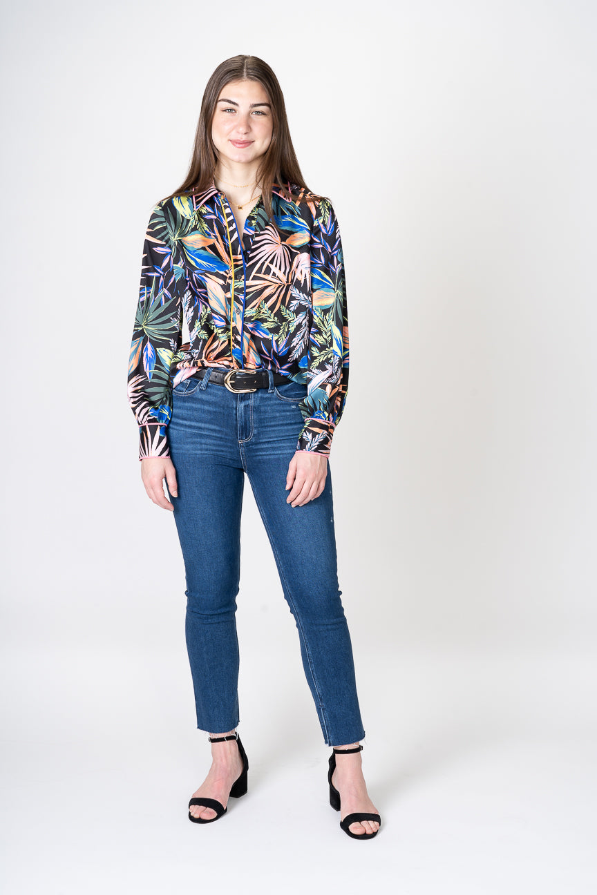 Milly Juliet Tropical Button Up