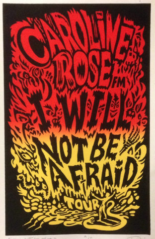 I Will Not Be Afraid Poster
