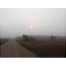 Load image into Gallery viewer, Quiet Country Road Fine Art Print