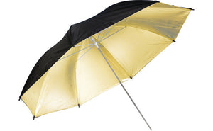"Savage 43"" Black/Gold Umbrella"