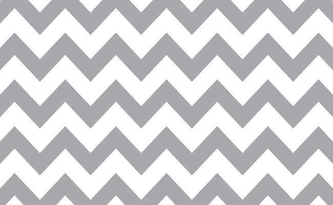 Savage Gray & White Chevron Printed Background Paper