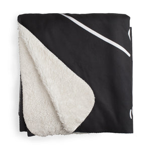 Customizable Fleece Sherpa Blanket