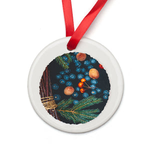 Customizable Porcelain Ornament