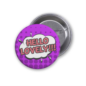 Customizable Pin-Back Button