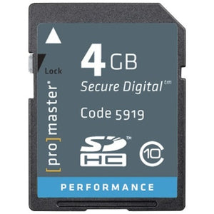 Promaster Standard SD 4GB Memory Card