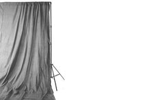 Load image into Gallery viewer, Savage Light Gray Washed Muslin Backdrop