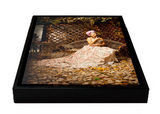 Customizable Framed Leather Gallery Wrap