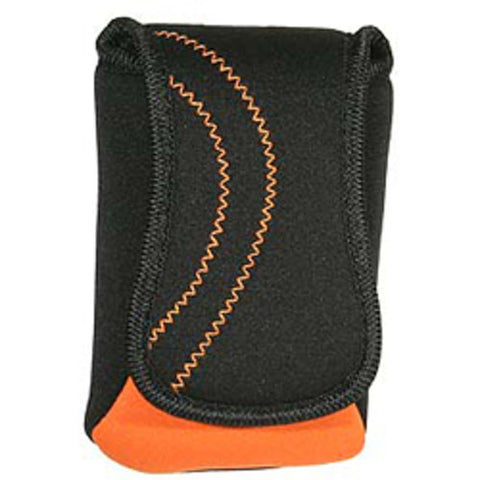 Promaster Aqua Orange and Black Neoprene Case