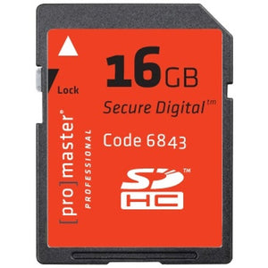 Promaster Professional SDHC 16GB Memory Card