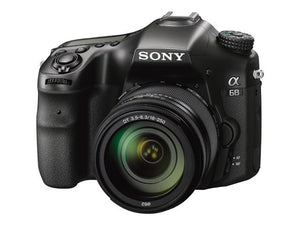 Sony Alpha a68 DSLR Camera with 18-55mm Lens