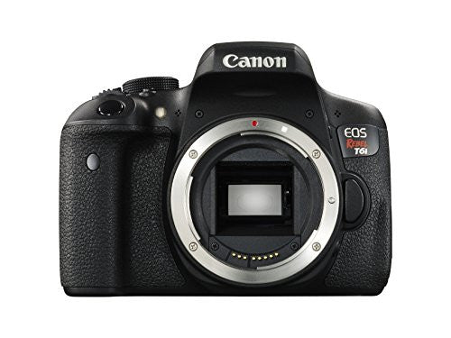 Canon EOS Rebel T6i Digital SLR (Body Only) - Wi-Fi Enabled