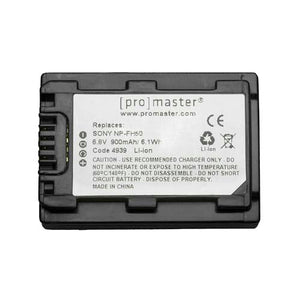 ProMaster Sony Battery NP-FH50 Lithium Ion