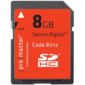 Promaster Professional SDHC 8GB Memory Card