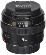 Load image into Gallery viewer, Canon EF 50mm f/1.4 USM Standard Lens for Canon SLR Cameras - Fixed