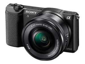 Sony a5100 Mirrorless Digital Camera with 16-50mm Lens (Black)