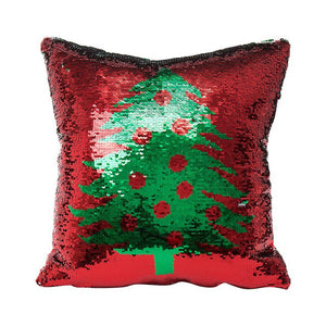 Cushion cover For Merry Christmas Color Glitter