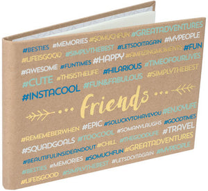 Malden 4x6 Friends Hashtag Brag Book - 40 Prints