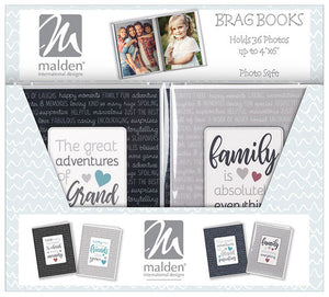 Malden 36 Photo 4x6 Sentiments Brag Book