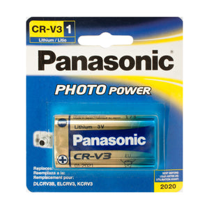 Panasonic 3V CRV3 Battery