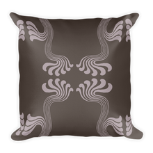 Load image into Gallery viewer, Art Nouveau Thyself Throw Pillow