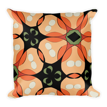 Load image into Gallery viewer, Tropical Floral Throw Pillow