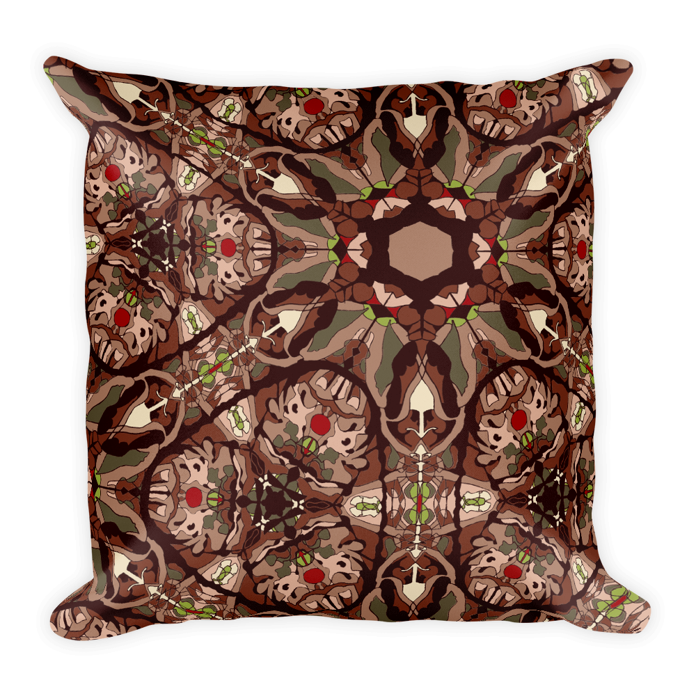 Shangri La Throw Pillow
