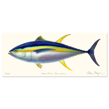 Load image into Gallery viewer, Yellowfin Tuna Masterwork Canvas