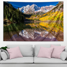 Load image into Gallery viewer, Maroon Bells by Third Eye Tapestries