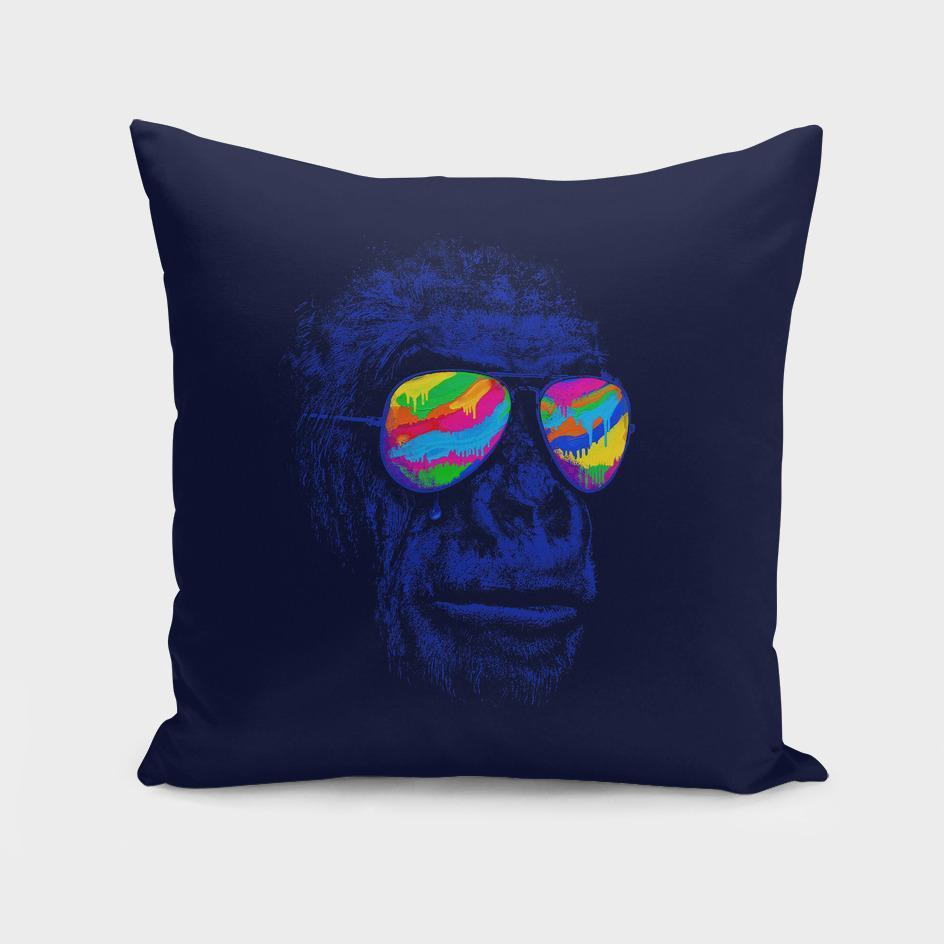 Blue Gorilla Cushion/Pillow
