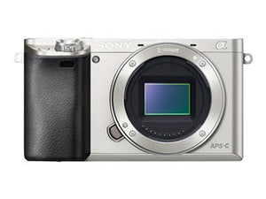 Sony Alpha a6000 Mirrorless Digital Camera - Silver (Body Only)