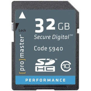 Promaster Perdormance SDHC 32GB Memory Card