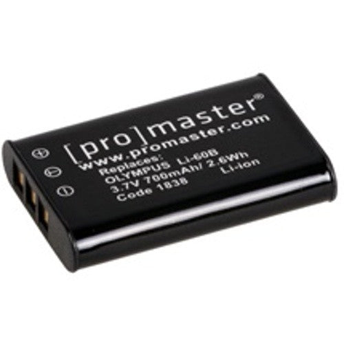 Promaster Olympus Battery Replacement LI-60B