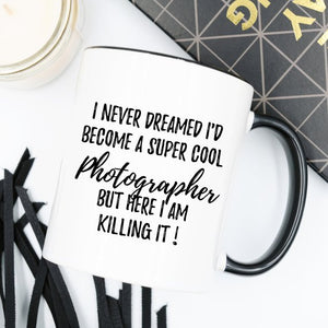 Photographer Mug, Photographer Gift, Gift For