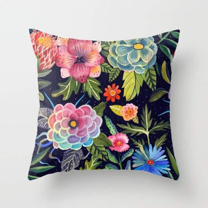 Cosmic Florals Cushion/Pillow