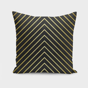 Minimalist and golden art Cushion/Pillow